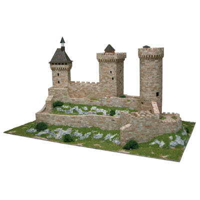 Foix castle Model Kit