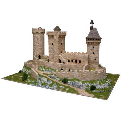 how to make a stone keep castle model