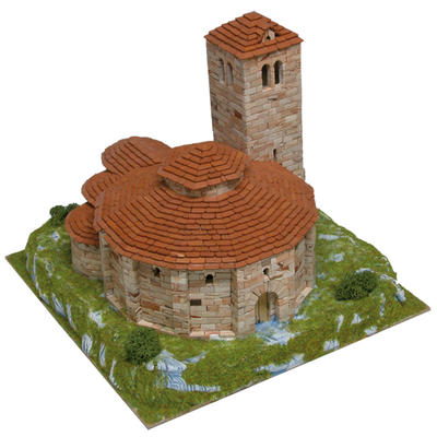 Vera Cruz Church Model Kit