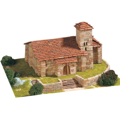 Santa Cecilia Church Model Kit