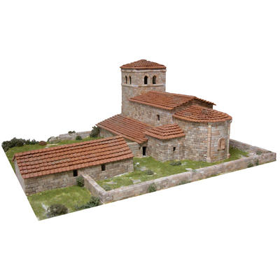 San Andres Church Model Kit