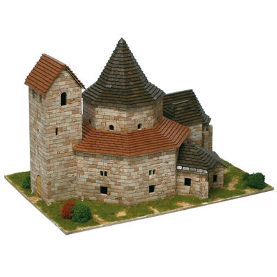 Ottmarsheim Abbey Model Kit