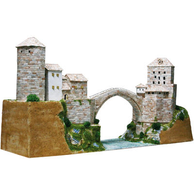 Mostar Bridge Model Kit