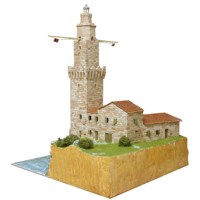 Porto Pi Lighthouse Model Kit