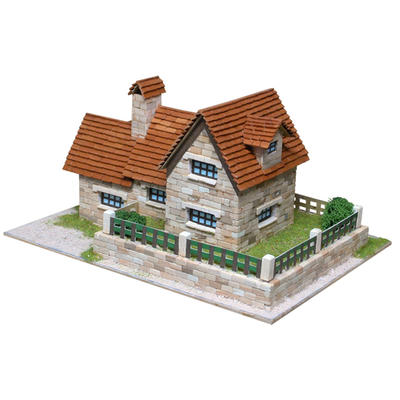 Chalet Building Set Model Kit