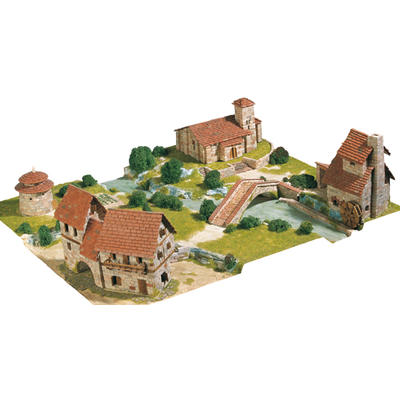 Rural Diorama Model Kit